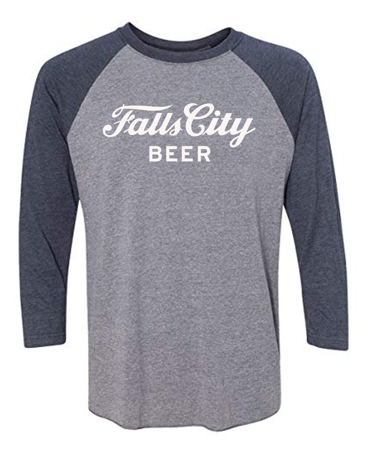 Falls City Baseball Sleeve - Navy
