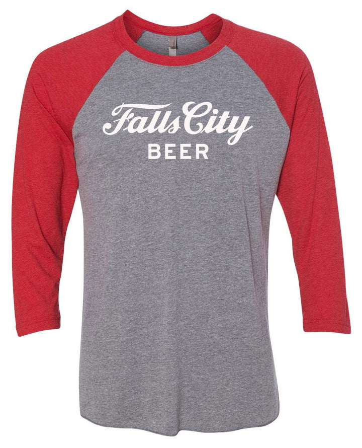 Falls City Baseball Sleeve - Red