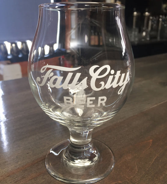 Falls City Fluted Glass