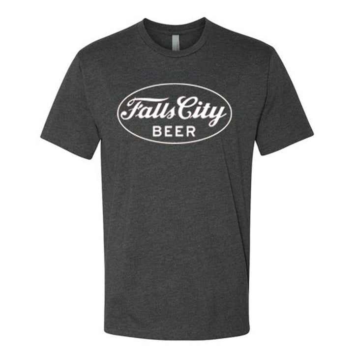 Falls City Beer - Classic T-Shirt - Charcoal