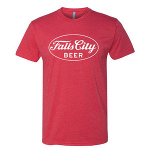 Falls City Beer - Classic T-Shirt - Red