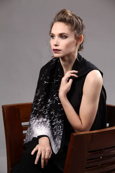 The-Black-Rally-silk-carre-square-scarf-white-90x90-packshot