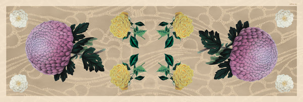 The-Pearl-Dhalia-Silk-Scarf-flower-rectangular-65X200 cm-full-view