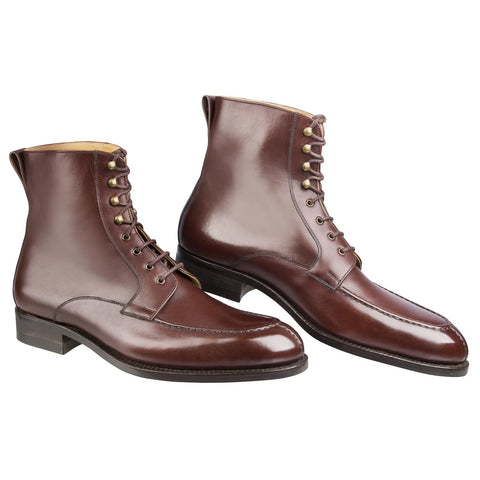Oslo High Boot - Antique Cognac Calf