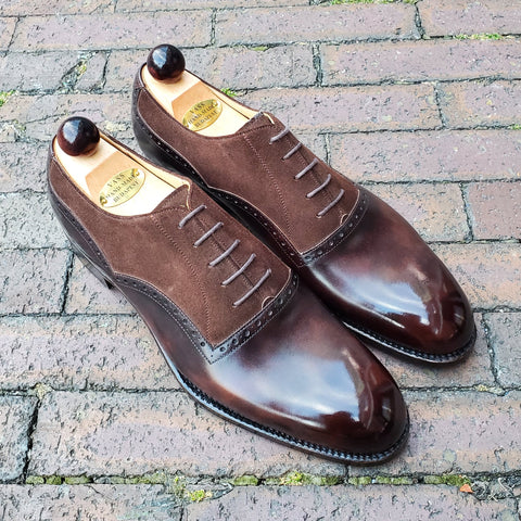 Bond Oxford - Brown Museum / Brown Suede