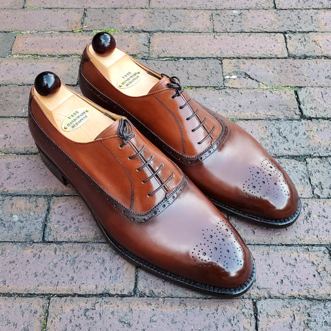 Balmoral Oxford - Antic Cognac / Cognac Calf