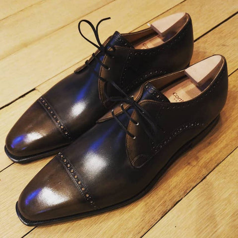 Ike - Old Black Calf Patina