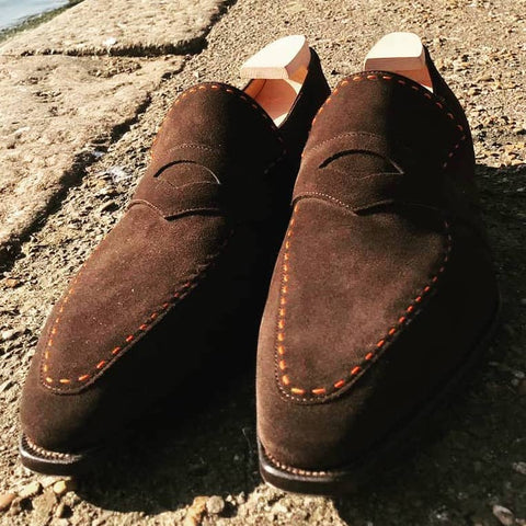 Rascaille - Dark Brown Suede