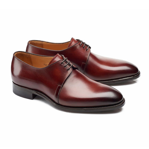 Style 7201 - Wine Shadow Calf Patina
