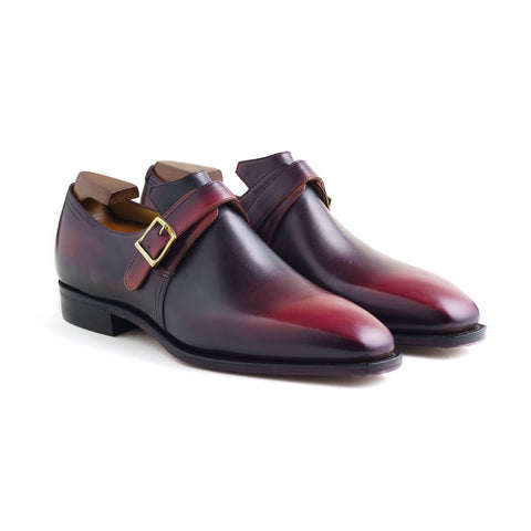 Arca Boucle - Lie de Vin Light Calf Patina
