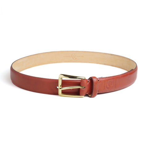 Leather Belt - Vintage Cherry Calf
