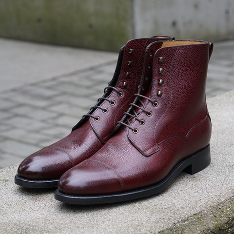 Style 9156 Field Boot - Burgundy Grain