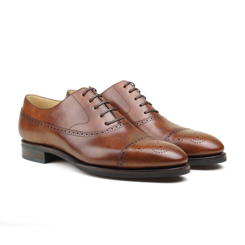Artista Style 111 - Medium Brown Museum Calf