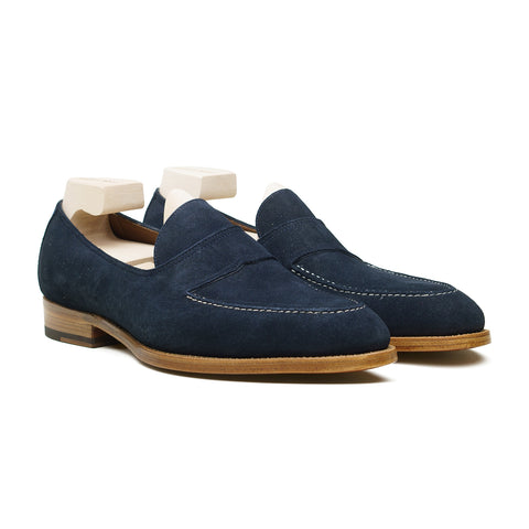 Penny Loafer - Midnight Janus Suede