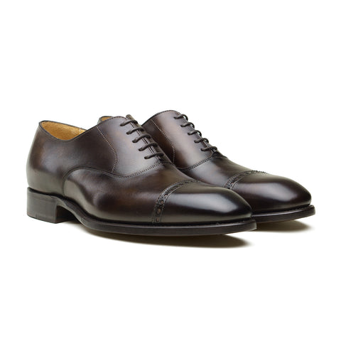 Style 10008 Oxford - Coimbra Calf Patina
