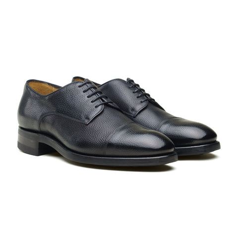 Style 9576 Derby - Black Shadow Grain