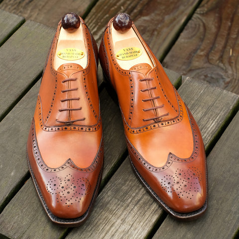 Budapest Oxford - Cognac Calf / Antic Cognac Calf