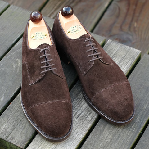 Theresianer Derby - Brown Suede