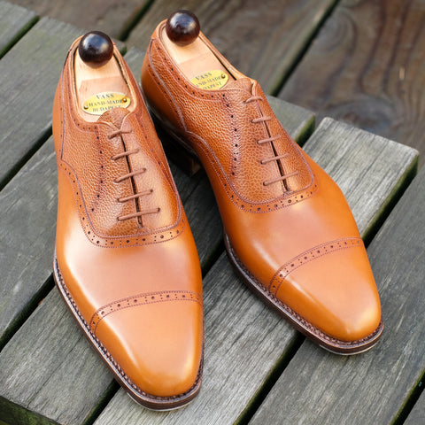 Old English II - Light Cognac Calf / Grain