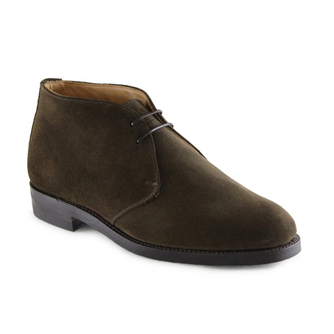 Chesham - Chocolate Brown Suede