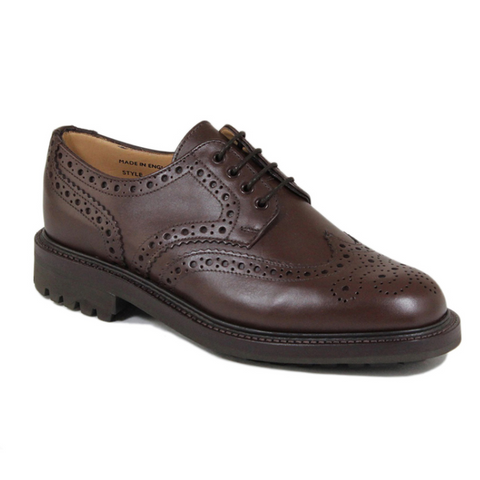 Salisbury - Chocolate Waxy Leather