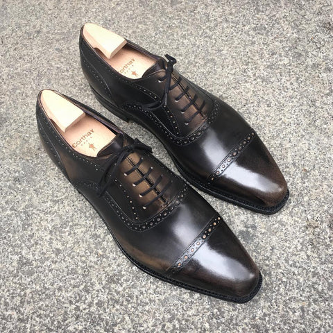 Bucy - Old Black Calf Patina