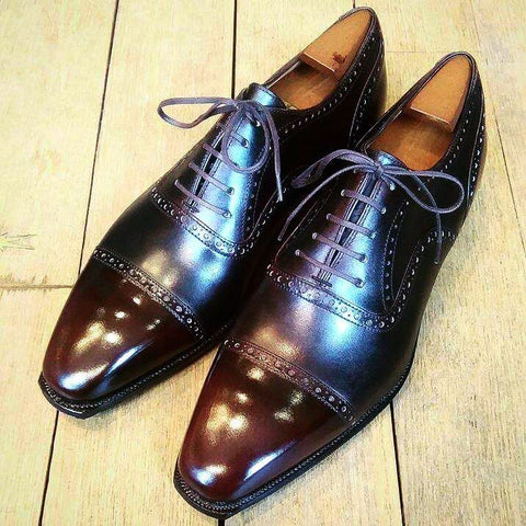Bucy - Ebony Calf Patina