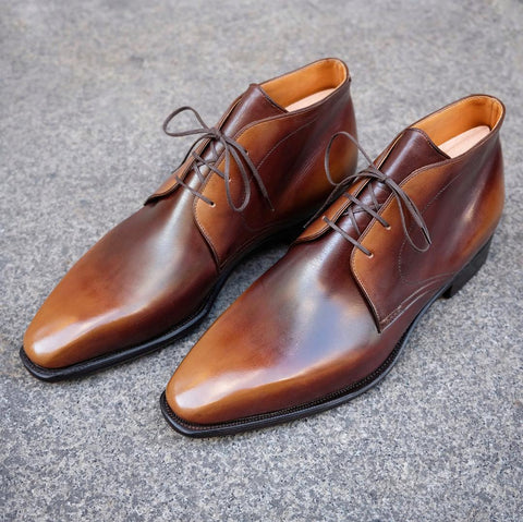 Chukka - Old Wood Calf Patina