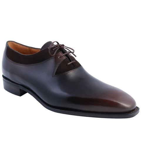 Duke - Lie de Vin Calf Patina