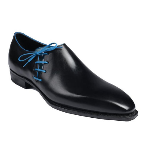 Lateral - Black Calf Blue Piping