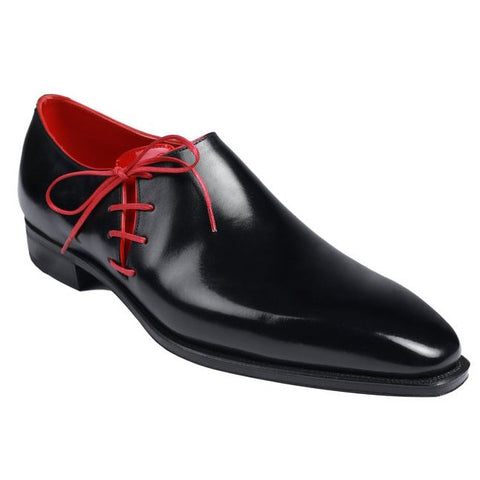 Lateral - Black Calf Red Piping