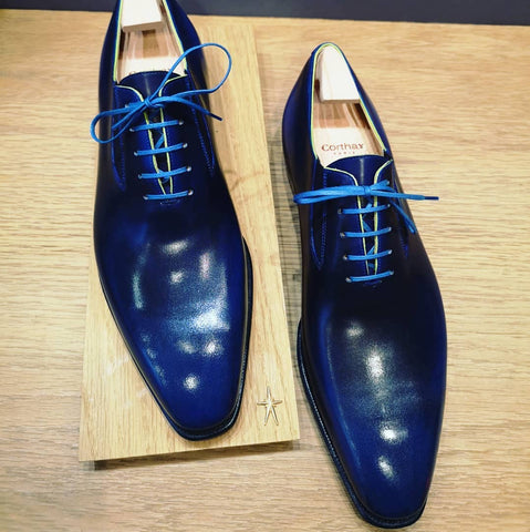Easy - Dark Blue Calf Patina