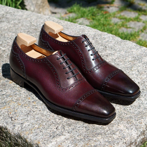 St James II - Vintage Cherry Calf