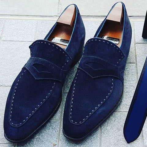 Rascaille - Navy Suede