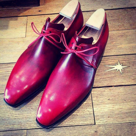 Arca - Ruby Red Calf Patina