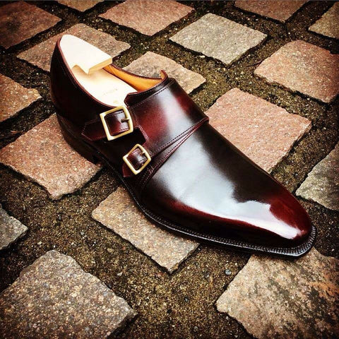 Twin - Lie de Vin Calf Patina