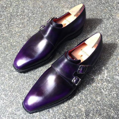 Twin - Aubergine Calf Patina
