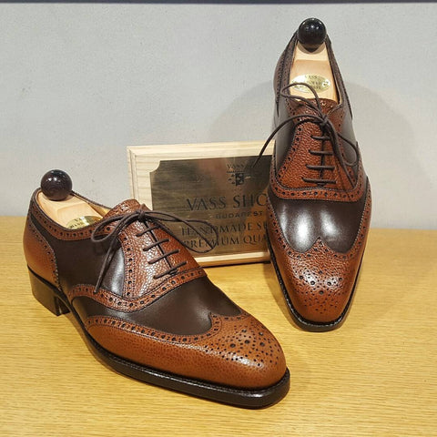 Budapest Oxford - Brown Calf / Cognac Grain
