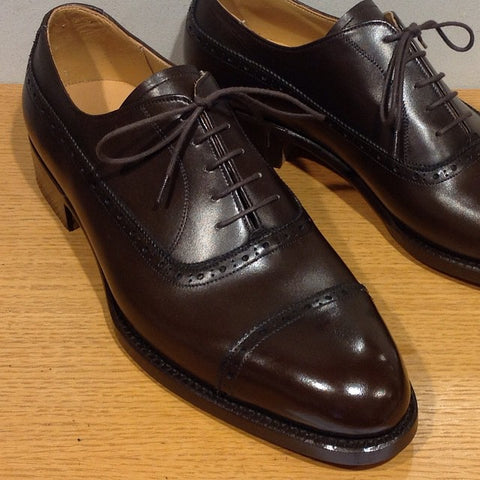 French Oxford - Dark Brown Calf