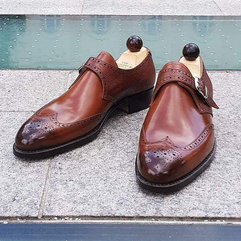 Single Monk - Cognac Grain / Cognac Calf
