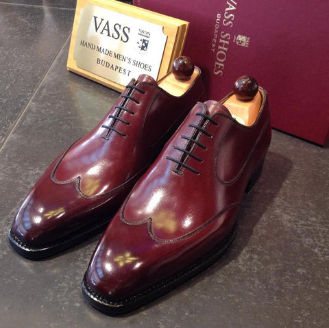 Austerity Oxford - Bordeaux Calf