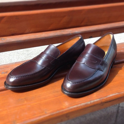 Penny Loafer - Bordeaux Calf