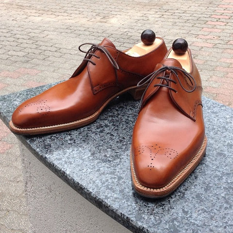 West Derby - Cognac Calf
