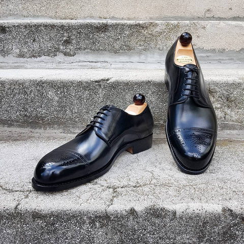 Theresian Derby - Black Calf
