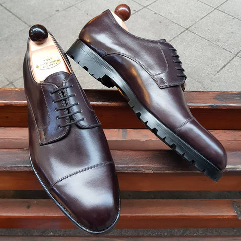 Theresian Derby - Oxblood Calf