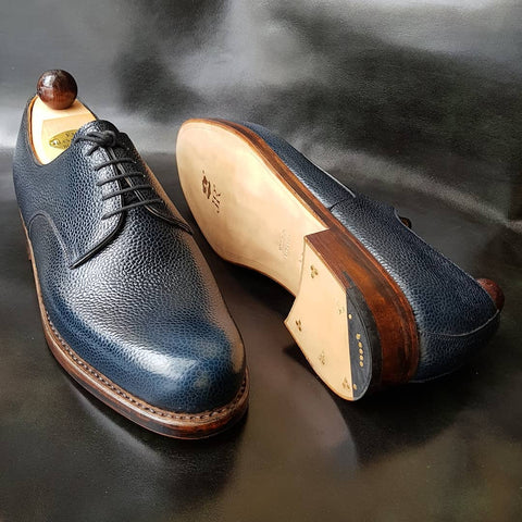 London Derby - Blue Scotchgrain