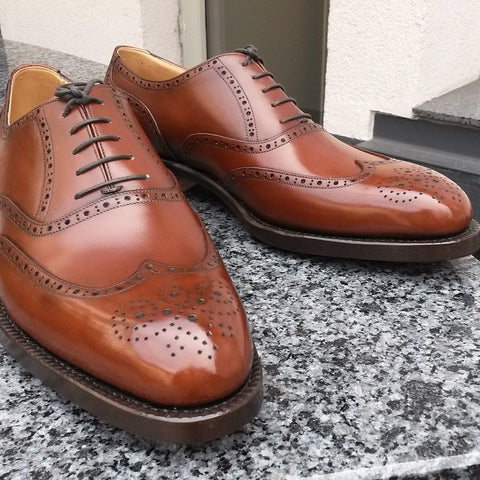 Budapest Oxford - Antique Cognac Calf