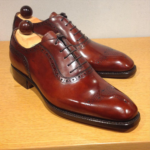 Italian Oxford - Gold Museum Calf