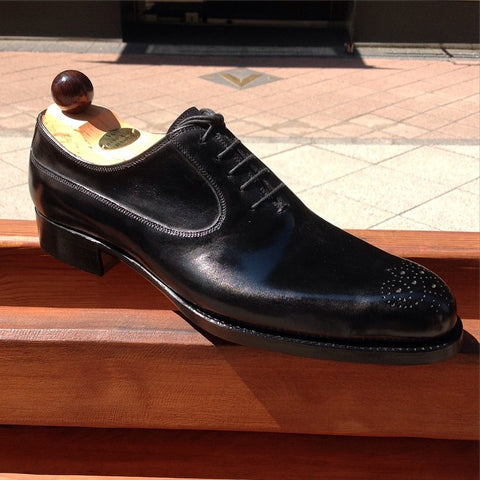 French Oxford - Black Calf