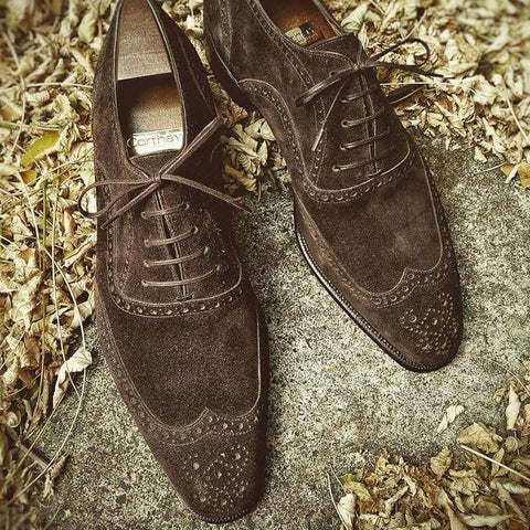 Vendôme - Dark Brown Suede
